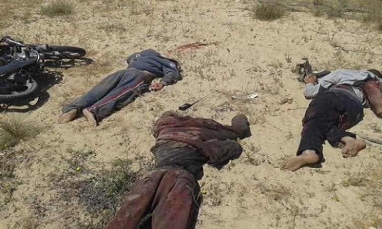 مقتل 11 إرهابيا في تبادل لإطلاق النار مع قوات الشرطة بالعريش