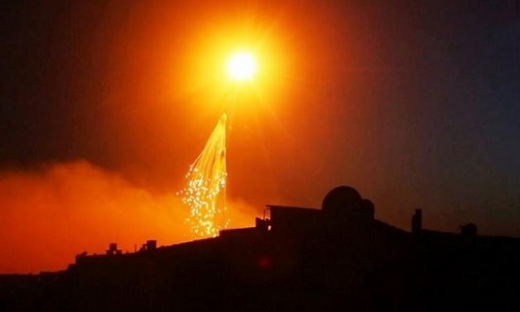 البنتاجون ينفى قصف دير الزور بقنابل فسفورية