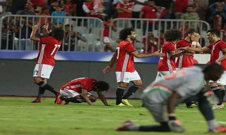 مصر تكتسح النيجر بسداسية نظيفة