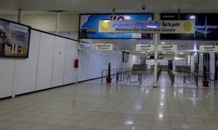 السلطات الليبية تغلق المنفذ الجوى الوحيد فى العاصمة طرابلس