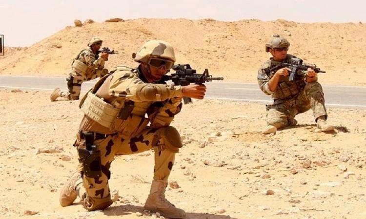 بالصور .. إستمرار تدفق القوات المشاركة فى تدريبات (النجم الساطع 2018) التى تقام بمصر