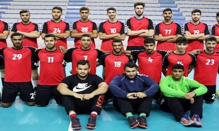 منتخب شباب اليد يصطدم بالمغرب فى البطولة الإفريقية