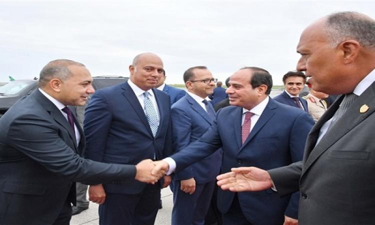 بالصور .. الرئيس السيسي يصل نيويورك للمشاركة فى إجتماعات الجمعية العامة للأمم المتحدة