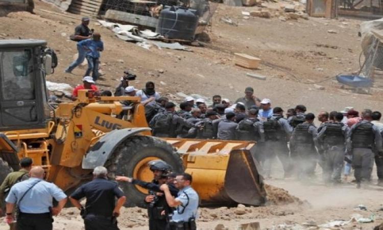 إسرائيل تقرر وقف هدم الخان الأحمر