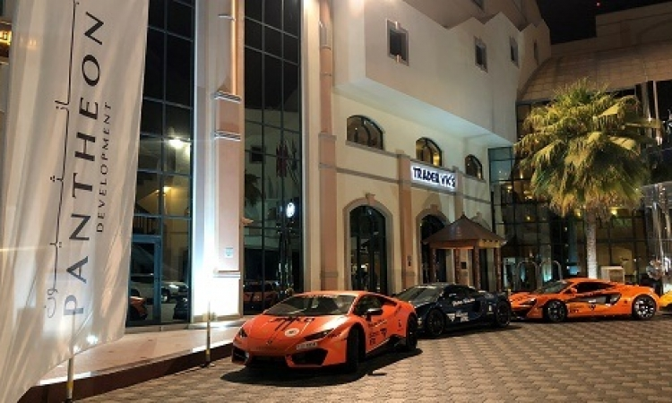 بانثيون تتعاون مع ناينث ديجري سوبركار لتقديم جولة لسيارات السباق في الإمارات