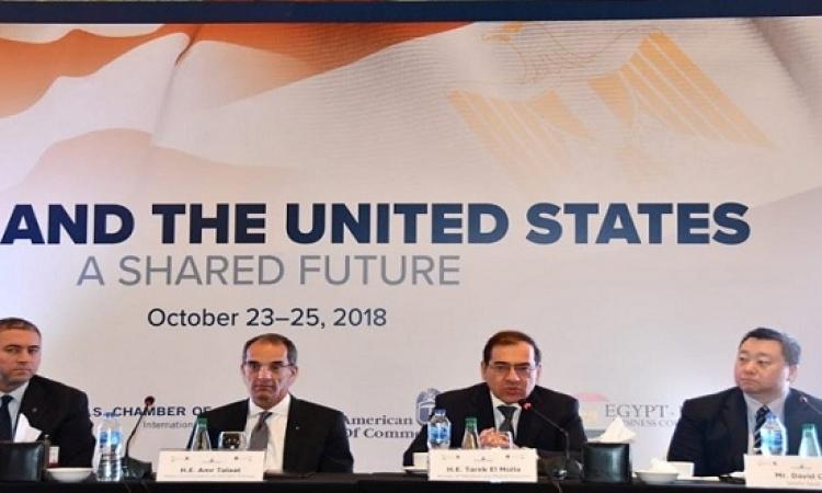 بعثة الشركات الأمريكية تختتم زيارتها للقاهرة