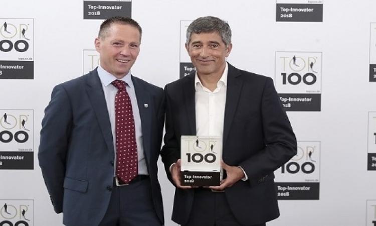 جيزي تحصل على جائزة توب 100 في فئة النجاح الابتكاري الاستثنائي