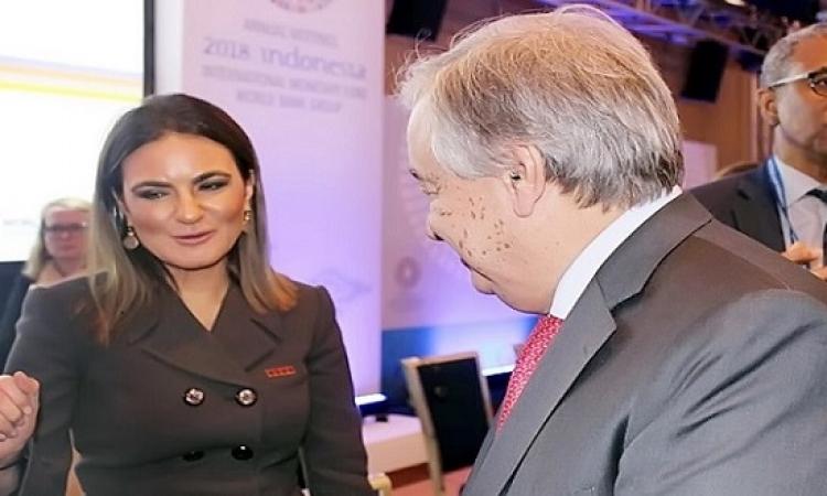 الأمم المتحدة : مصر بقيادة السيسى تلعب دورًا محوريًا فى أمن المنطقة