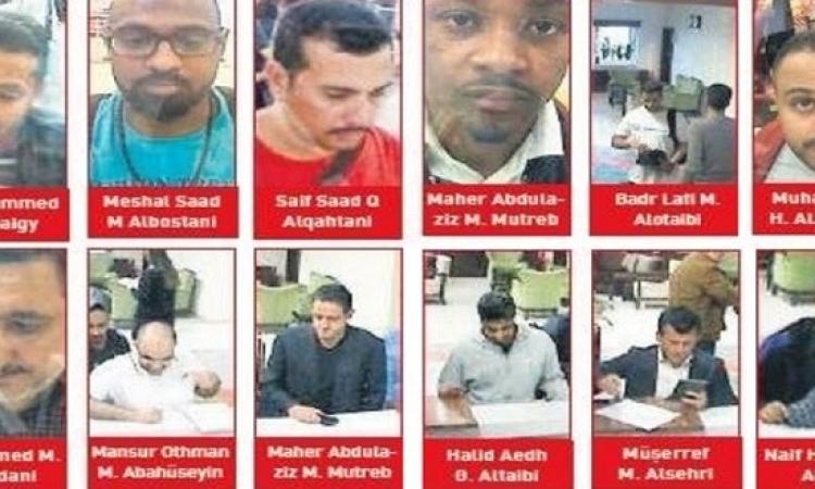نشر صور وأسماء سعوديين قيل إنهم وصلوا اسطنبول وغادروها يوم اختفاء خاشقجي