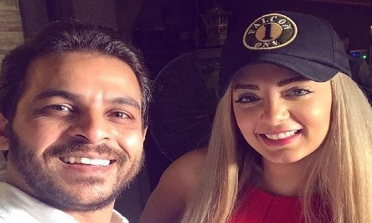 بالصور .. محمد رشاد يؤكد الشائعات : مي حلمي أهانت أهلي !!