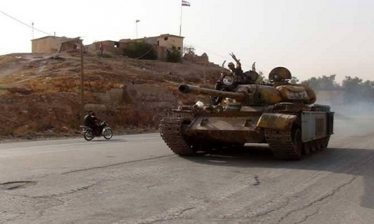 الجيش السورى يوجه ضربات على تجمعات لإرهابيى جبهة فتح الشام بإدلب