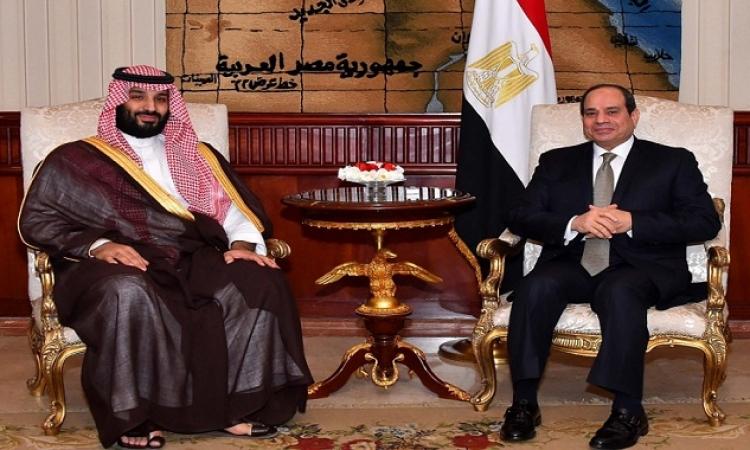 السيسى يبحث اليوم مع بن سلمان دعم التعاون الثنائى والقضايا الاقليمية