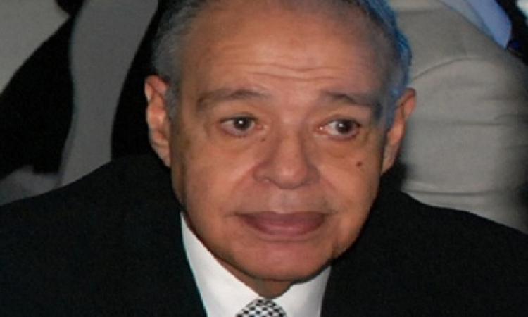 تشييع جثمان الراحل إبراهيم سعدة من أخبار اليوم
