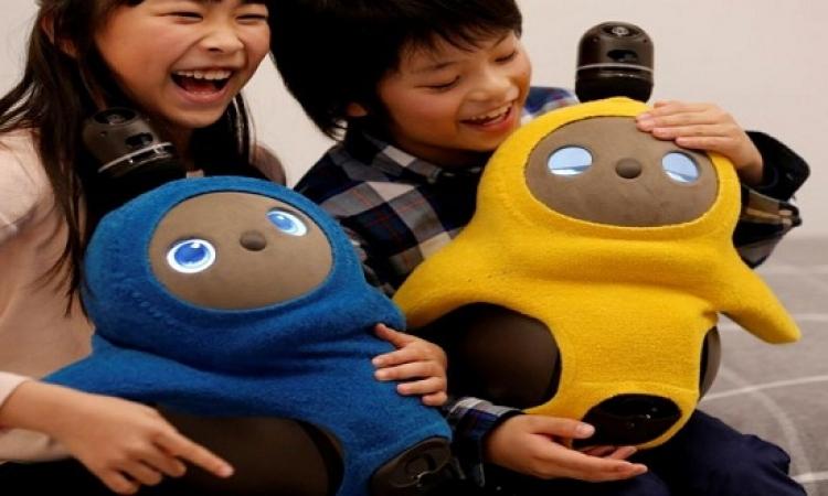 """إنسان آلي لـ""""الفرفشة"""" في اليابان"""