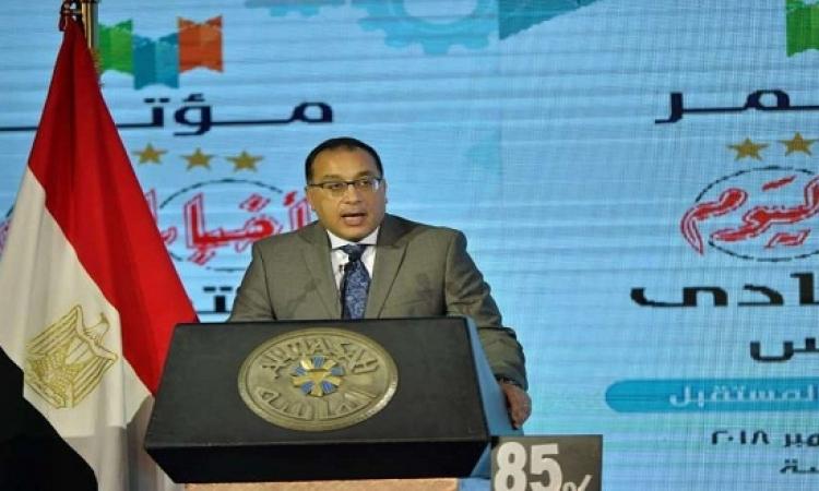 مدبولى يشهد توقيع 4 اتفاقيات بين رجال الأعمال المصريين واللبنانيين