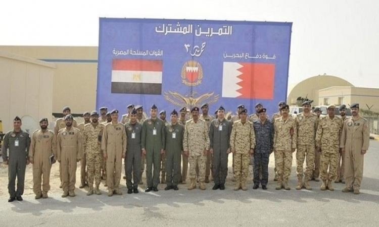 اختتام فعاليات التدريب المشترك المصري البحريني (حمد – 3)