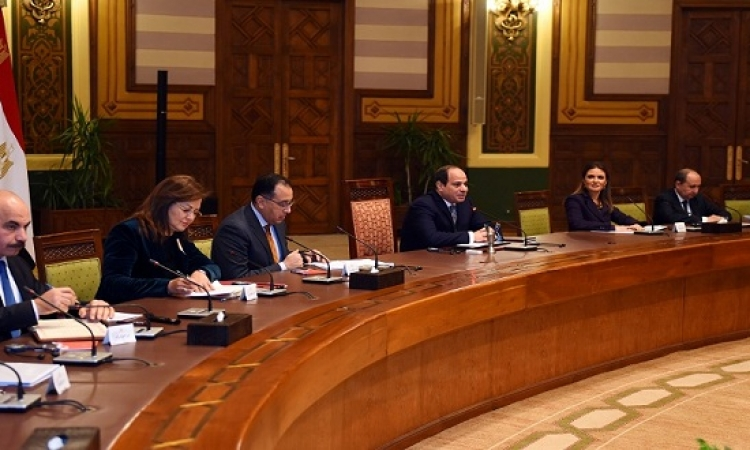 الرئيس لوفد استثمارى: المشروعات التنموية بمصر انتقلت من التخطيط إلى التنفيذ