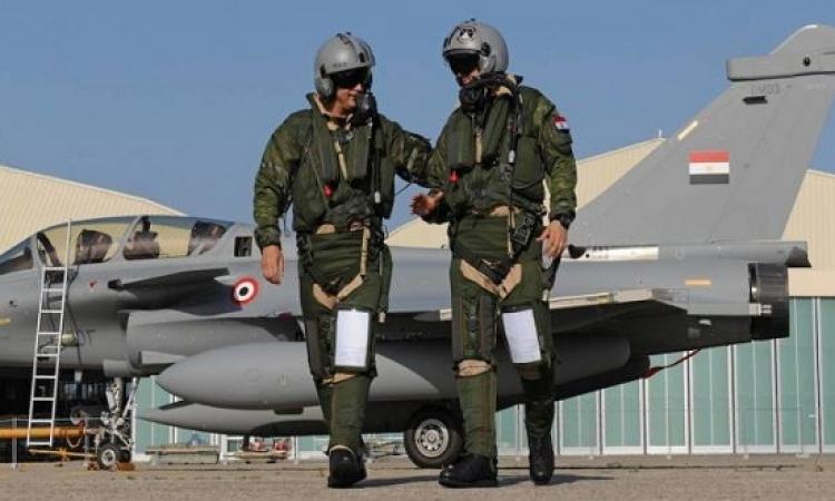 القوات الجوية تقضى على قياديين إرهابيين فى شمال سيناء