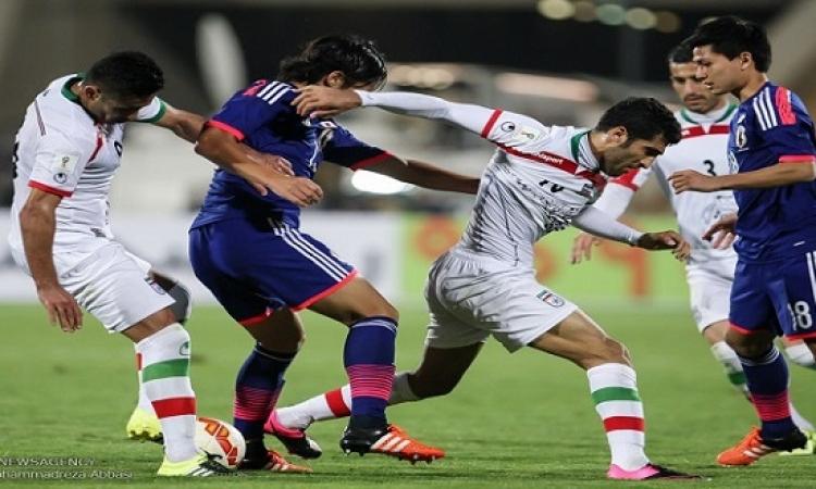 إيران تصارع اليابان على تذكرة نهائى كأس آسيا اليوم