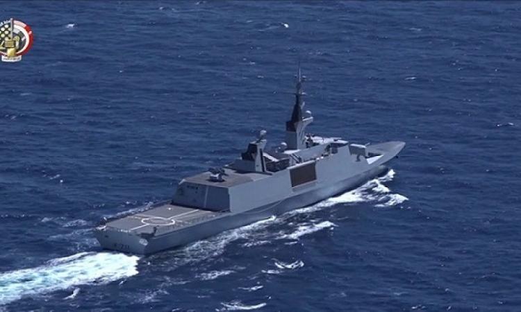 مصر والبحرين تنفذان التدريب البحرى الجوى المشترك (حمد-3)