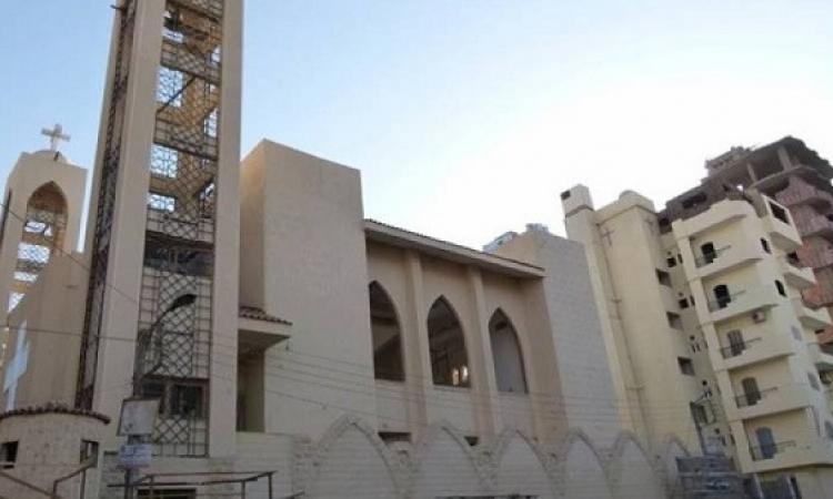 محافظ المنيا يفتتح اليوم كنيسة ملوى الإنجيلية بعد قيام القوات المسلحة بترميمها