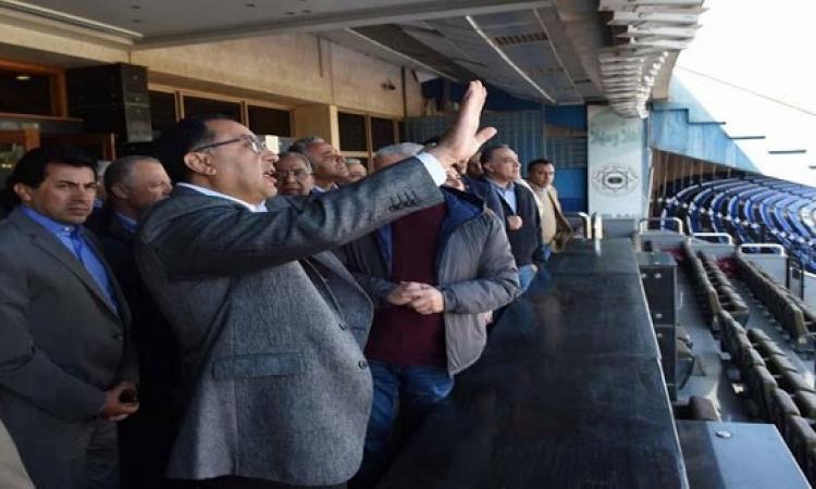 مدبولي : لا بد من انتهاء كافة تجهيزات استاد القاهرة خلال 3 أشهر فقط