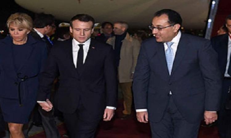 """مجلس الوزراء: زيارة """"ماكرون"""" تتزامن مع انطلاق فعاليات عام مصر-فرنسا"""