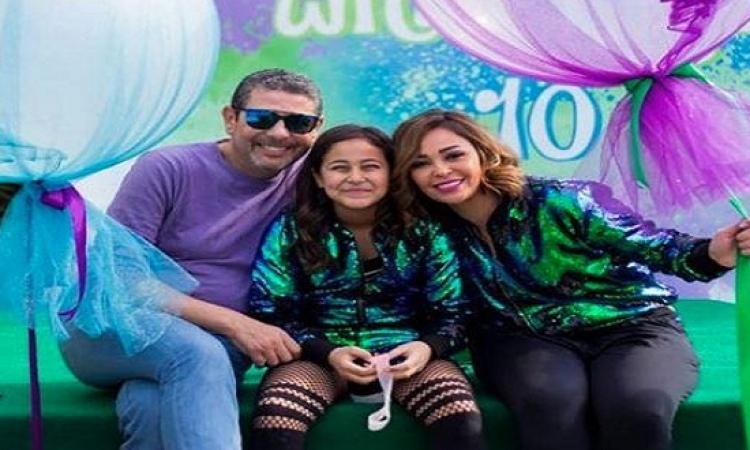 "بالصور .. داليا البحيري تحتفل بعيد ميلاد ابنتها ""قسمت"""
