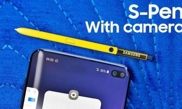 اختراع جديد لسامسونج : أول قلم ذكي بكاميرا