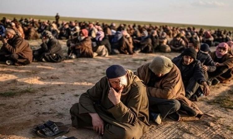 استسلام ثلاثة آلاف داعشي في بلدة الباغوز خلال لقوات قسد