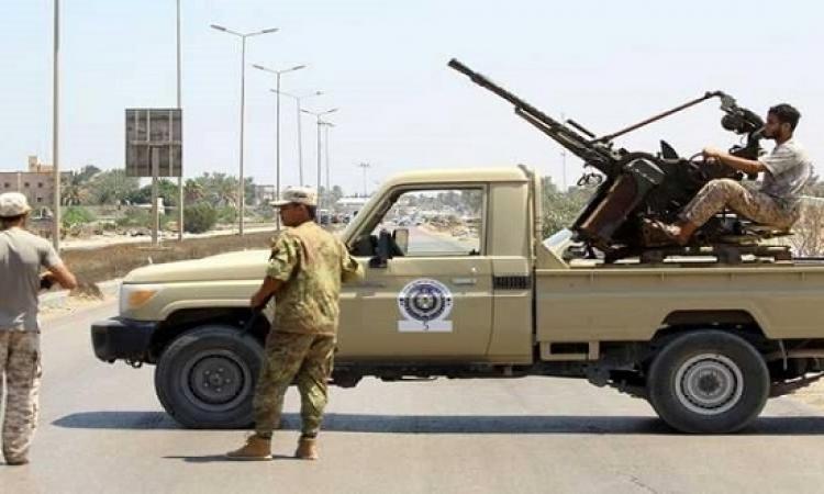الجيش الليبي يعلن سيطرته على كوبري مطار طرابلس ووادي الربيع