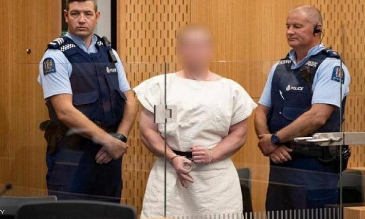 سفاح نيوزيلندا يمثل أمام المحكمة بتهمة القتل