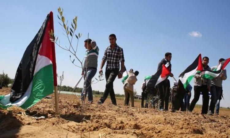 """الفلسطينيون يحيون اليوم الذكرى الـ43 لـ""""يوم الأرض"""""""
