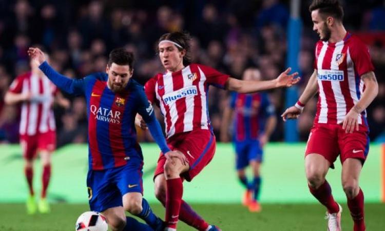 أتلتيكو مدريد يسعى لفك العقدة أمام برشلونة فى الليجا الإسباني الليلة