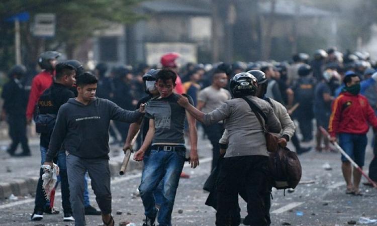 206 قتيل وجريح فى اعمال شغب بجاكارتا بعد إعلان نتائج الانتخابات
