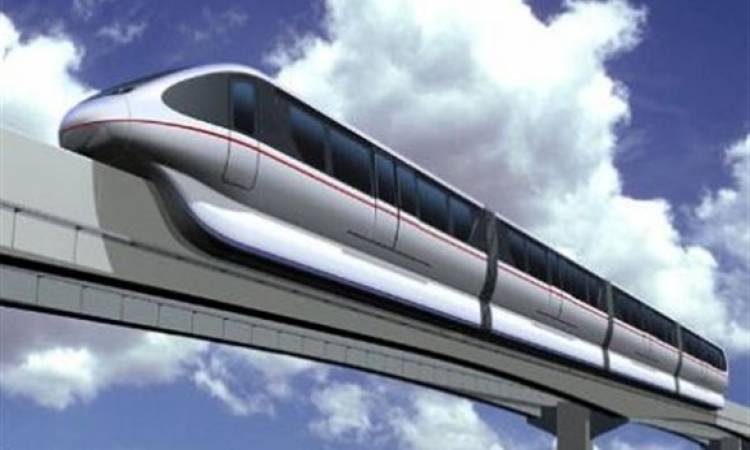 الإسكان والنقل تقيمان أعمال تشغيل القطار المعلق