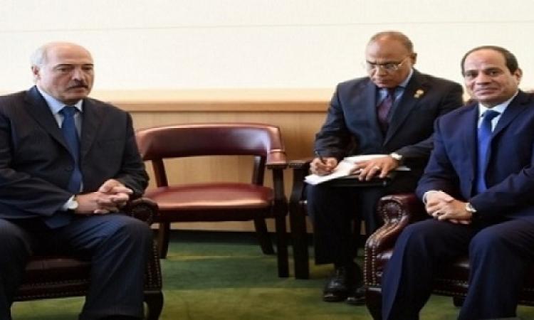 بدء القمة المصرية – البيلاروسية لبحث توسيع التعاون المشترك في مختلف المجالات