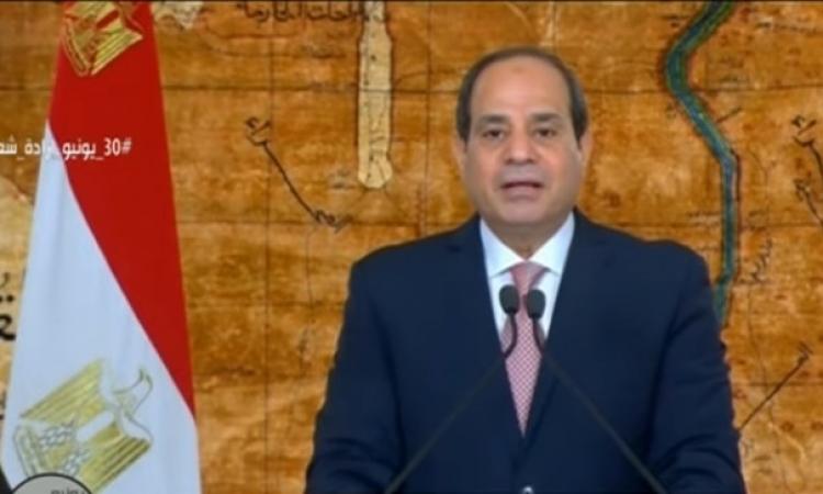 الرئيس السيسى يكلف الحكومة بإتخاذ اجراءات إضافية لمواجهة فيروس كورونا