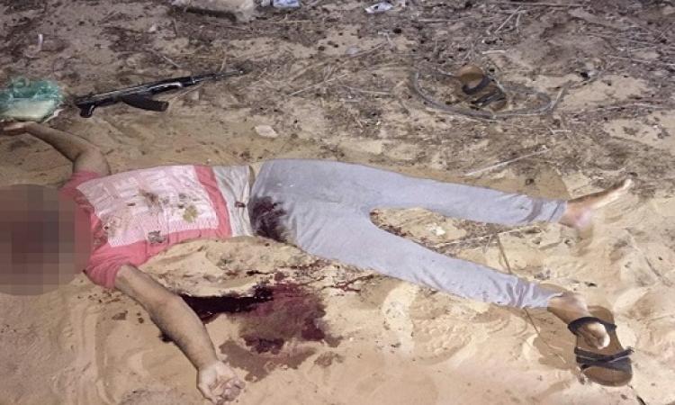 بالصور .. الداخلية : مقتل 4 إرهابيين متورطين فى الهجوم على كمين جنوب العريش