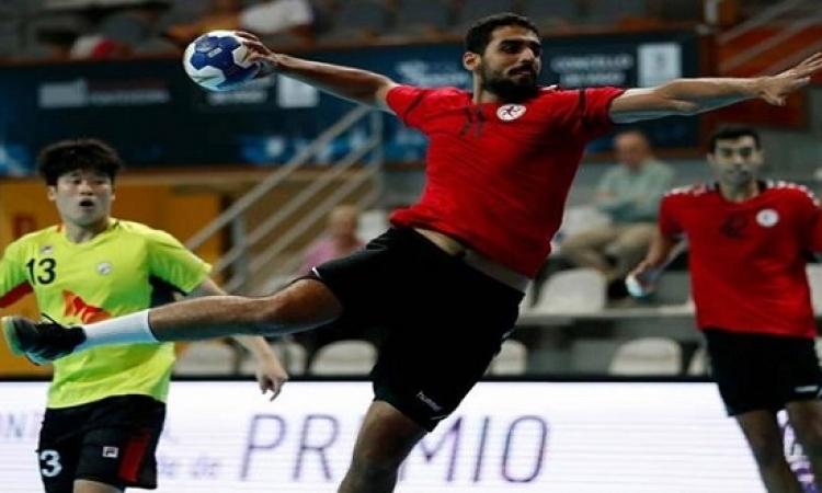 مصر تواجه صربيا اليوم فى دور الـ 16 لمونديال الشباب لكرة اليد