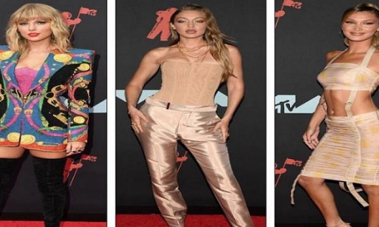 بالصور .. النجمات يتألقن فى حفل توزيع جوائز MTV