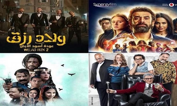 6 افلام تتنافس على العيدية .. والفلوس يخرج من السباق