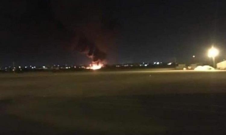الجيش الليبى يدمر طائرة شحن تركية فى مصراتة