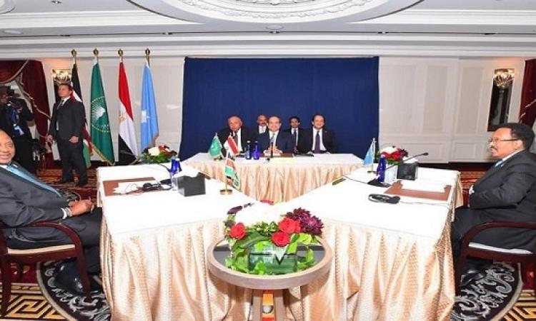 بوساطة السيسي .. تشكيل لجنة كينية صومالية لتسوية نقاط الخلاف بين البلدين