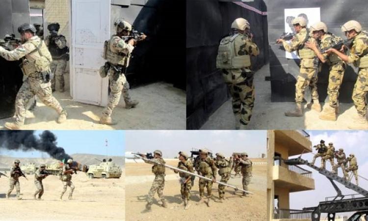 """استمرار فعاليات التدريب المصرى – الأردنى المشترك """"العقبة – 5 """""""