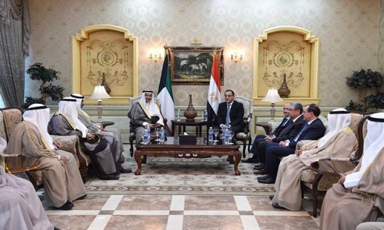 مباحثات ثنائية اليوم بمجلس الوزراء بين مدبولى ورئيس الوزراء الكويتى