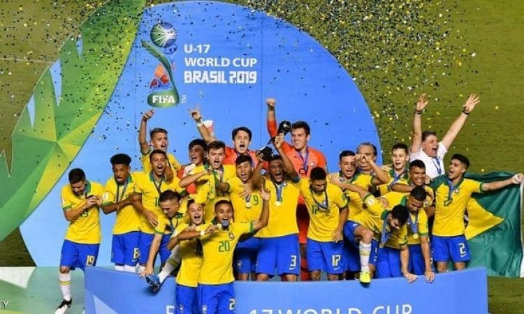 البرازيل تهزم المكسيك وتتوج بمونديال الشباب للمرة الرابعة