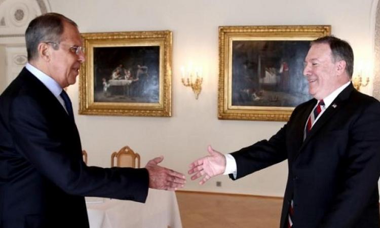 فى أول زيارة منذ 2017 .. لافروف يلتقى بومبيو فى واشنطن