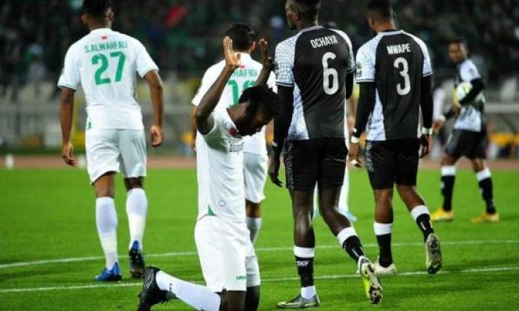الرجاء يُلاقى الزمالك بنصف نهائى أبطال أفريقيا رغم خسارته من مازيمبى