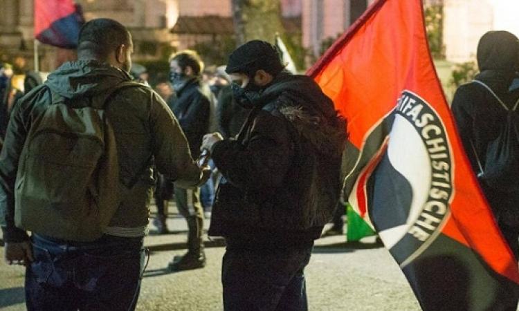 """ماهى حركة """"أنتيفا"""" التى تشعل مظاهرات امريكا وصنفها ترامب منظمة ارهابية ؟"""